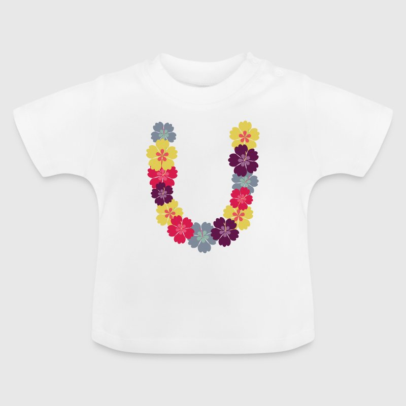 Hawaii-Blumenkette - Baby T-Shirt
