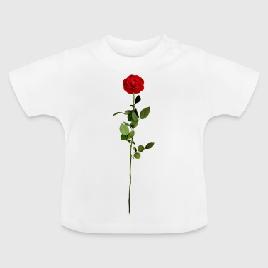 rode roos - Baby T-shirt