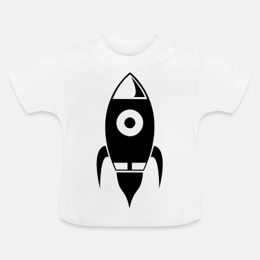 Take Rocket takes off into space - Baby T-Shirt
