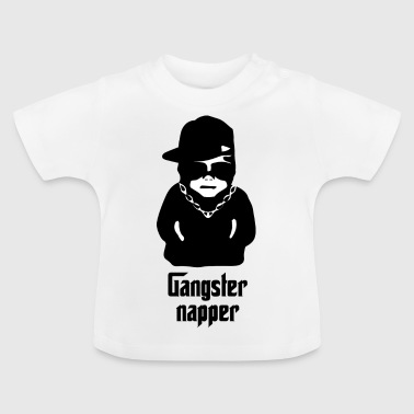 gangster napper - T-shirt Bébé
