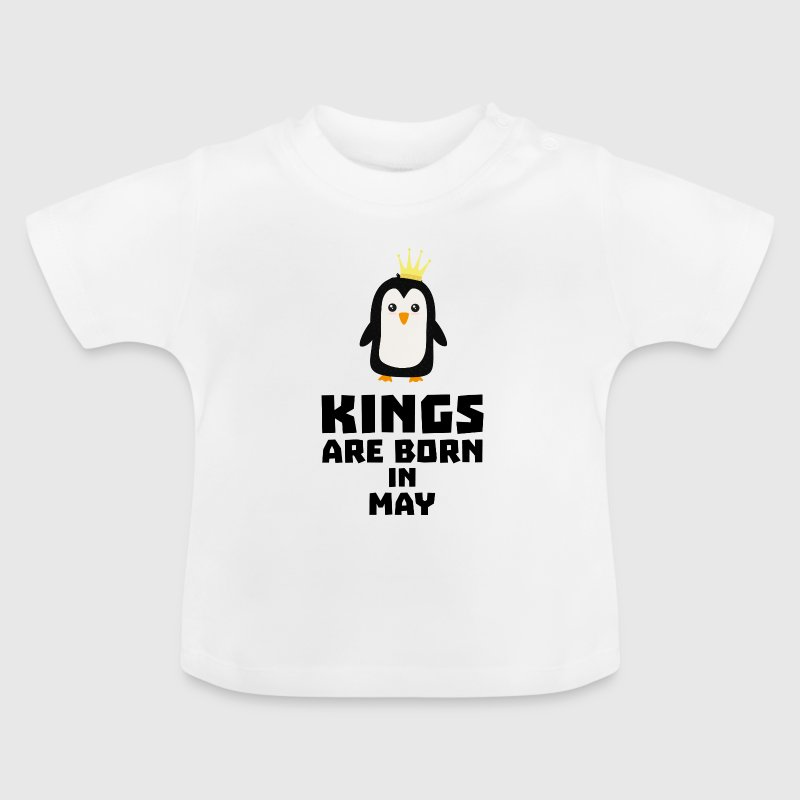 kings born in MAY S8l1m - Baby T-Shirt