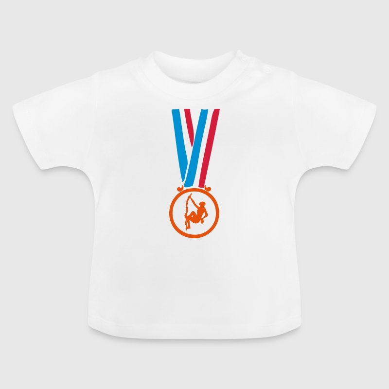 champion medaille escalade - Baby T-shirt