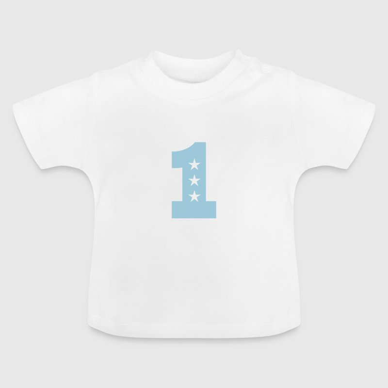 1. Geburtstag Eins One 1st birthday first T-Shirt - Baby T-Shirt