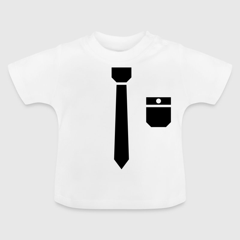 Tie and pocket ( smoking, tuxedo ) - Baby T-shirt