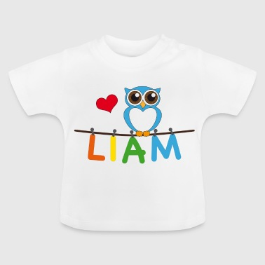 Eule Liam - Baby T-Shirt