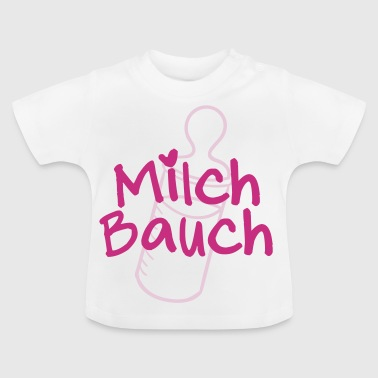 Milch-Bauch - Baby T-Shirt