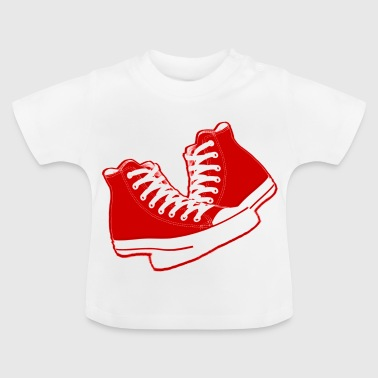 chaussures old school - Baby-T-shirt