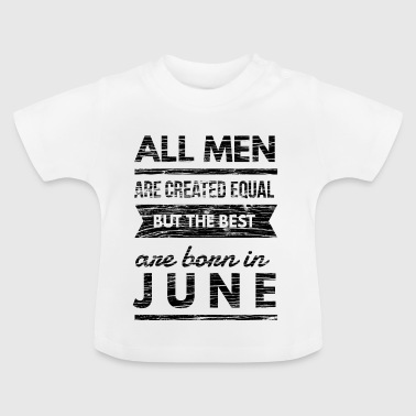 jarig in juni design  - Baby T-shirt