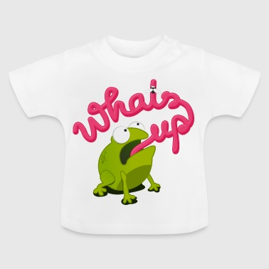 whats up frog - T-shirt Bébé