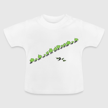 faule_ameise - Baby T-Shirt