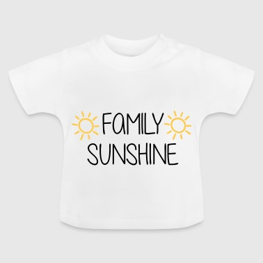 Baby / Toddler / Family Sun - Baby T-Shirt