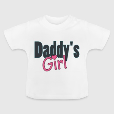 daddy's girl - Baby-T-shirt