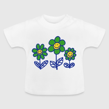 Flower Power by Cheerful Madness!! - Baby T-Shirt