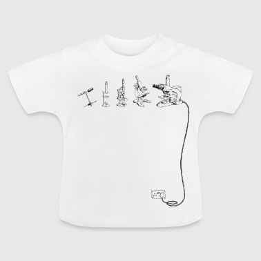 The Evolution of Microscope - Baby T-Shirt
