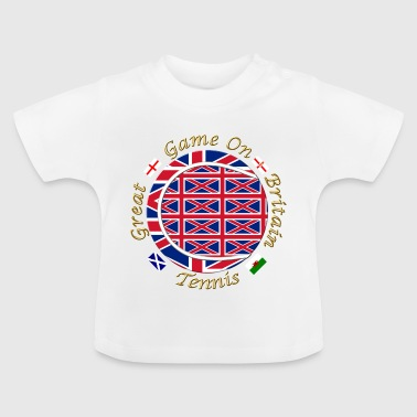 great britain union tennis crest - Baby T-Shirt