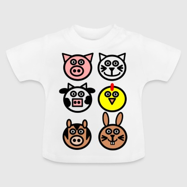 farm animals - Baby T-Shirt