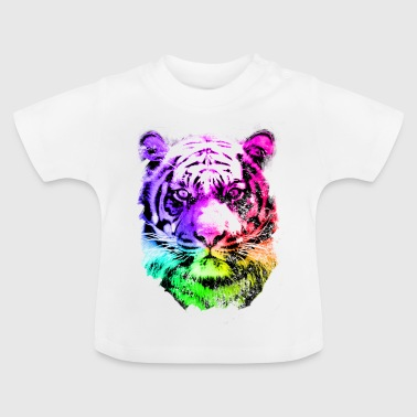 tiger - tigre - big cat - pshycho - Baby T-Shirt