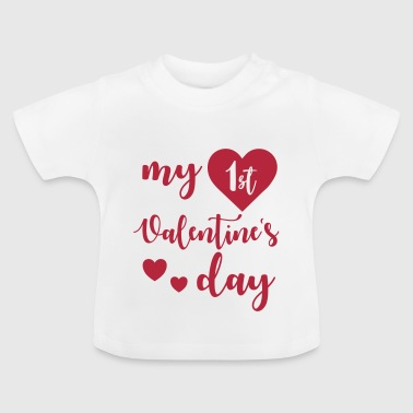 My 1st Valentines Day - Baby T-shirt