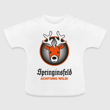 Achtung wild! for white - Baby T-Shirt