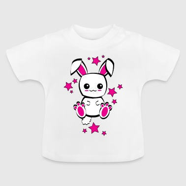 LAPIN MIGNON KAWAII - CUTE RABBIT - T-shirt Bébé