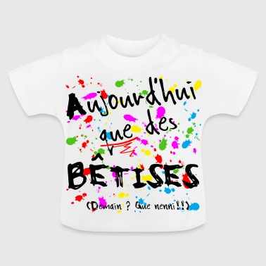 Rentree 4 - T-shirt Bébé