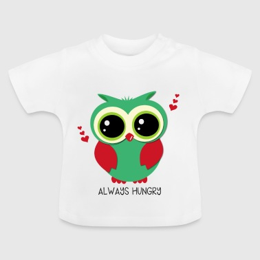 Eule_always-hungry - Baby T-Shirt