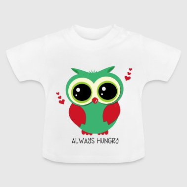 Owl_always-hungry - Baby T-Shirt