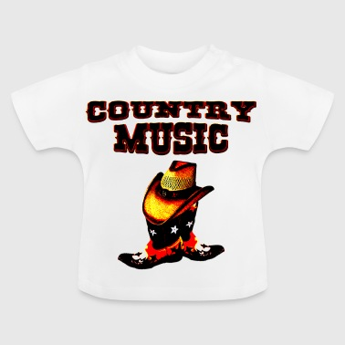 country music - Baby T-Shirt