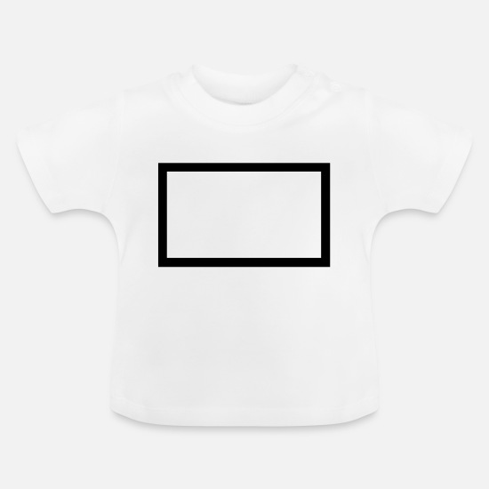 Painter Baby Clothes - picture frame_2_2 - Baby T-Shirt white