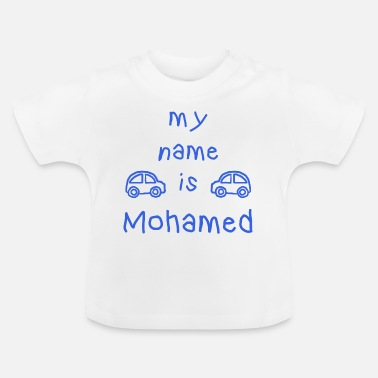 Name MOHAMED MY NAME IS - Baby T-Shirt