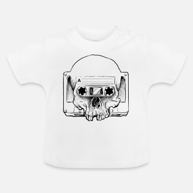 Audio Audio Skull - T-shirt baby