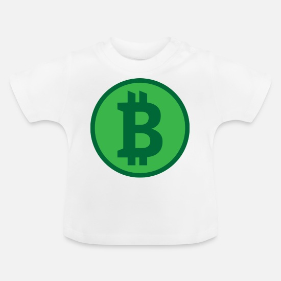 Gift Idea Baby Clothes - Bitcoins - Baby T-Shirt white