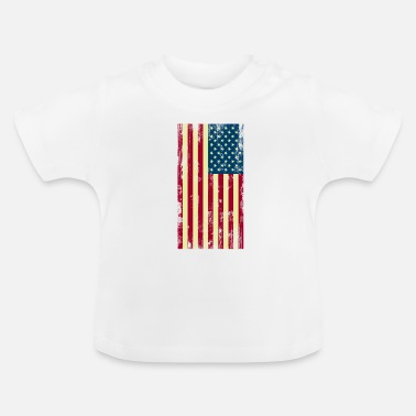 Usa USA - Flag - Baby T-shirt
