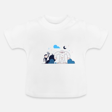 Winter Yeti - Baby T-Shirt