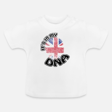 England Gift Its in my dna dns roots England - Baby T-Shirt