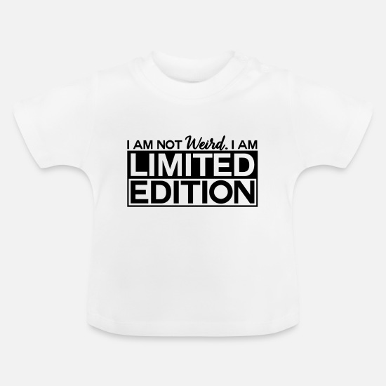 Funny Baby Clothes - Funny design for funny guys - Baby T-Shirt white