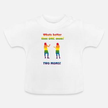 Mother Two mothers - Pride - Baby T-Shirt
