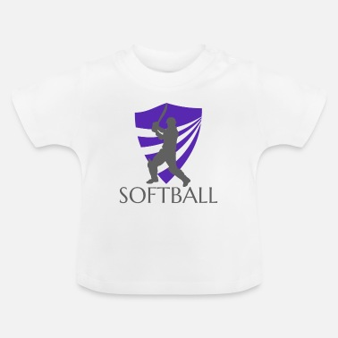 Softball softball - T-shirt Bébé
