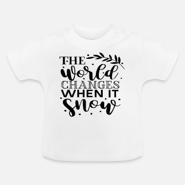 December winter - Baby T-shirt