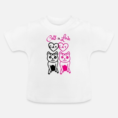 Cats In Love Cats in love - Baby T-Shirt