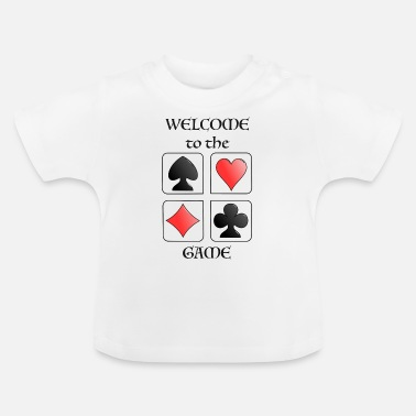 Topseller Poker Card Game Player TOPSELLER in GAMES - Baby T-Shirt