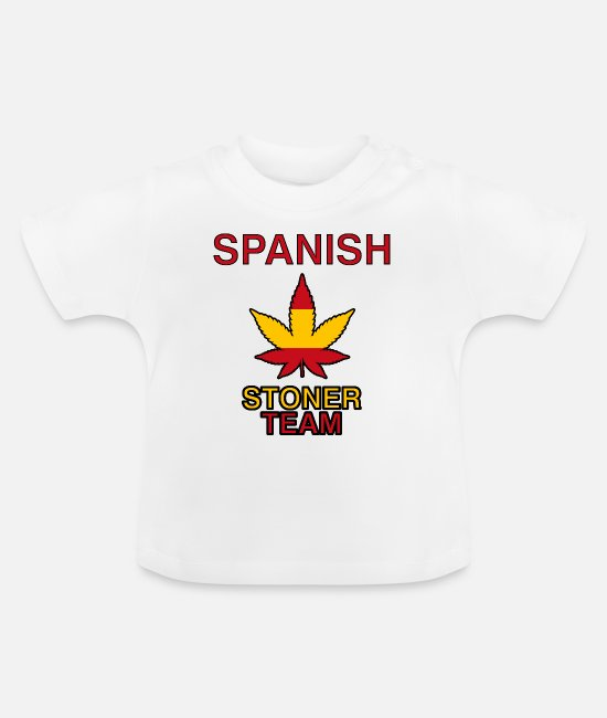 Legalization Baby T-Shirts - Cannabis Smoking Grinder Weed weed grass gift - Baby T-Shirt white