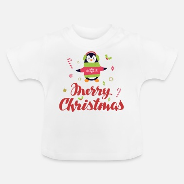 Merry Christmas - T-shirt Bébé