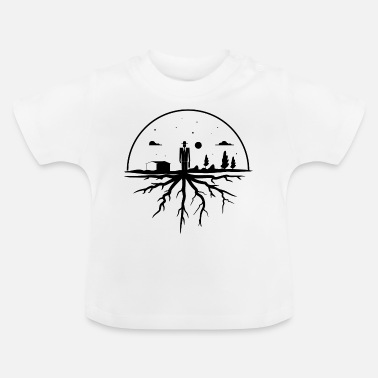Hometown Roots Hometown - Baby T-Shirt