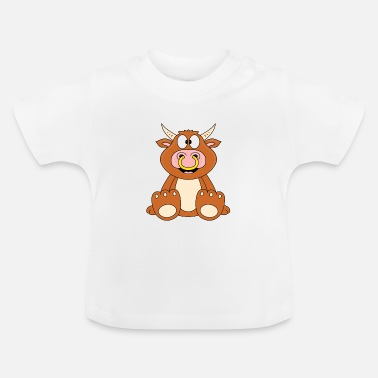 Beef Funny bull - cow - bull - beef - Baby T-Shirt