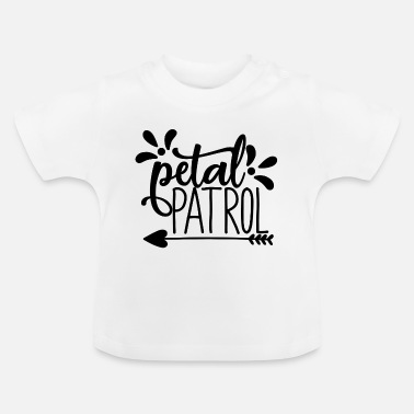 Groom petal patroll - wedding design - Baby T-Shirt