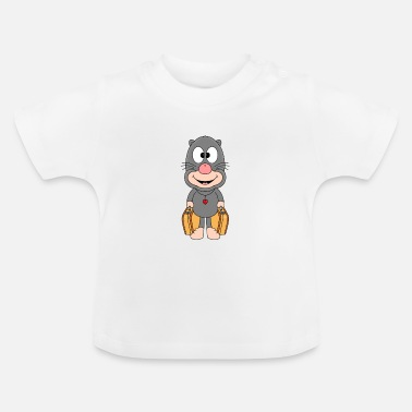 Fun Mole - travel - vacation - vacation - suitcase - animal - Baby T-Shirt