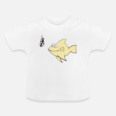 Catch Bait Fishing, catch the bait - Baby T-Shirt