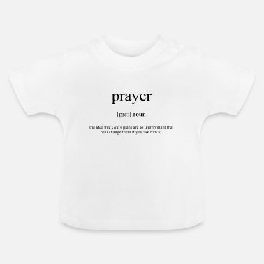 Gebed Gebed (gebed) - Baby T-shirt
