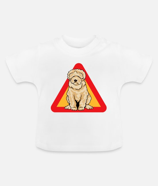 Pet Baby Clothes - Labradoodle Goldendoodle Doodle Dog - Baby T-Shirt white
